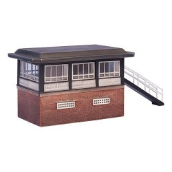 ** Graham Farish 42-133  x 1 Scenecraft BR Type 15 Signal Box (Pre-Built)