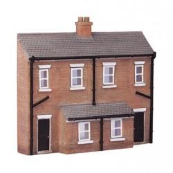 ** Graham Farish 42-233  x 1 Scenecraft Low Relief Rear of Terraces (Pre-Built)