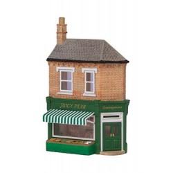** Graham Farish 42-253  x 1 Scenecraft Low Relief Greengrocers (Pre-Built)