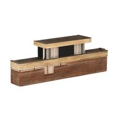 ** Graham Farish 42-254  x 1 Scenecraft Low Relief Power Signal Box (Pre-Built)