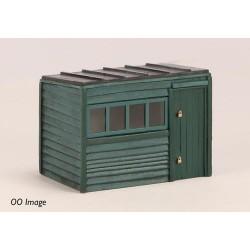 ** Graham Farish 42-544  x 1 Scenecraft Pent Roof Garden Shed (Pre-Built)