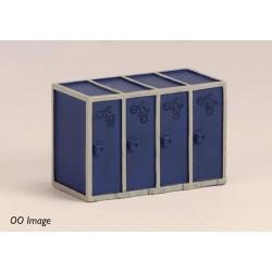 ** Graham Farish 42-547  x 1 Scenecraft Cycle Cabinets (Pre-Built)