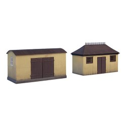 ** Bachmann 44-0055  x 1 Scenecraft Pagoda Shed & Store (Pre-Built)