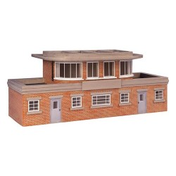 ** Bachmann 44-0059 x 1  Scenecraft Art Deco Signal Box (Pre-Built)