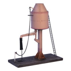 ** Bachmann 44-0064  x 1 Scenecraft Parachute Water Tower (Pre-Built)