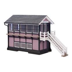** Bachmann 44-0074  x 1 Scenecraft Downham Market Signal Box (Pre-Built)