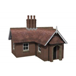 ** Bachmann 44-0078  x 1 Scenecraft Crossing Keeper's Cottage (Pre-Built)