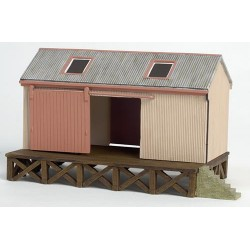 ** 	 Bachmann 44-006 x 1 Scenecraft Corrugated Goods Shed (Pre-Built)