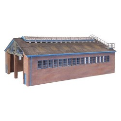 ** Bachmann 44-017  x 1 Scenecraft Modern Servicing Depot (Pre-Built)