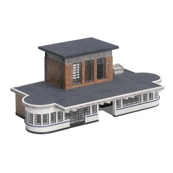 ** Bachmann 44-066  x 1 Scenecraft Art Deco Station Building (Pre-Built)