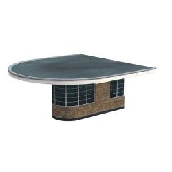 ** Bachmann 44-067  x 1 Scenecraft Art Deco Platform End Building (Pre Built)
