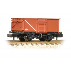 ** Graham Farish 377-226B  x 1 16t Steel Mineral Wagon With Top Flap Doors BR Bauxite