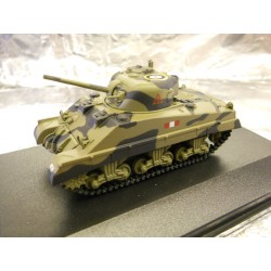 ** Oxford Diecast 76SM002 Sherman Tank MK III Royal Scots Greys Italy 1943