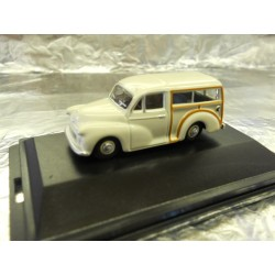** Oxford Diecast 76MMT001 Morris Minor Traveller Old English White