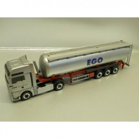 ** Herpa 905121  MAN TGX XXL Silo Semitrailer EGO