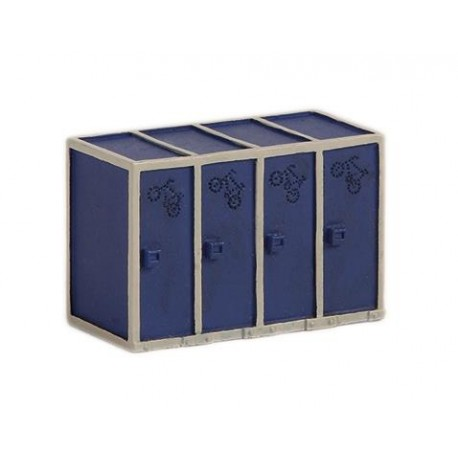 ** Bachmann 44-547 Scenecraft Cycle Cabinets (Pre-Built)