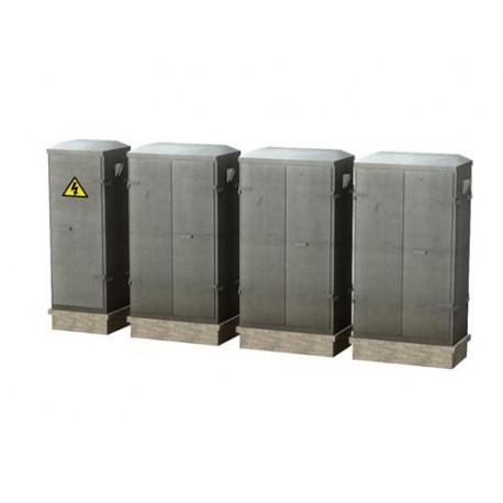 ** Bachmann 44-560 Scenecraft Lineside Cabinets 4pcs (Pre-Built)