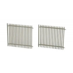 ** Bachmann 44-505 Scenecraft Security Fence (Pre-Built)