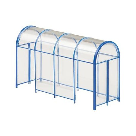 ** Bachmann 44-510 Scenecraft Shelters 2pcs (Pre-Built)