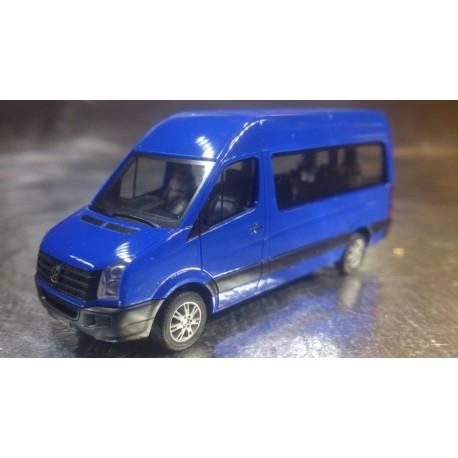 ** Herpa Vans 049948-002 VW Crafter High Roof, Ultramarin Blue