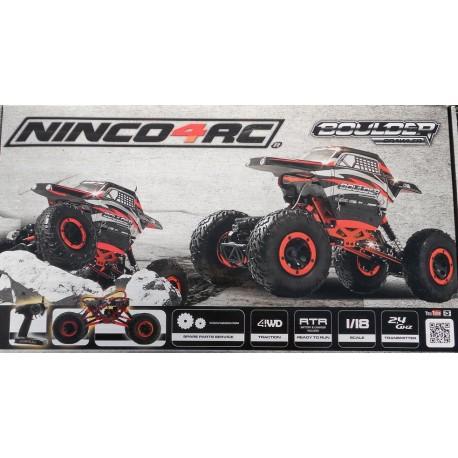 ** Ninco NH93052 Ninco4RC 1/18 Boulder Crawler 2.4G RTR Radio Control Approx 50 Mtr Range