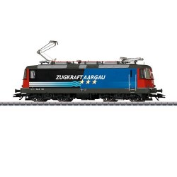 ** Marklin 37306 SBB Re4/4 II Zugkraft Aargau Electric Loco V (MFX-Sound)