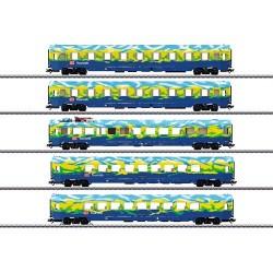 ** Marklin 43878 DBAG Tourism Train Coach Set (5) V