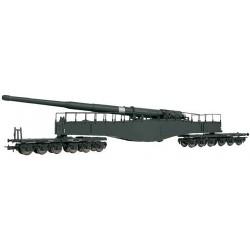 ** Rivarossi HR6450 DRB K5 Railway Gun Grey II