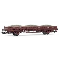 ** Rivarossi HR6305 DB Flat Wagon w/Ballast Load IV