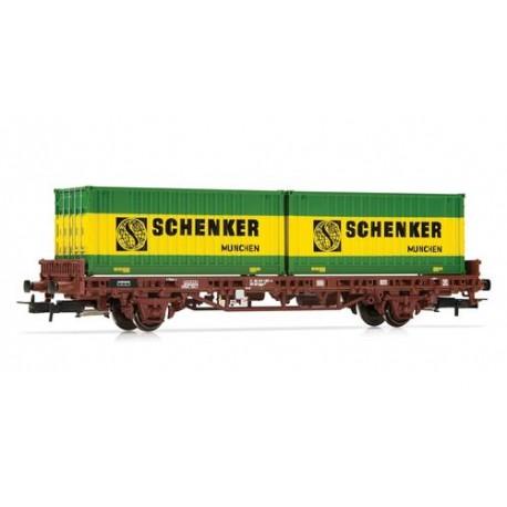 ** Rivarossi HR6414 DB Schenker Container Wagon IV