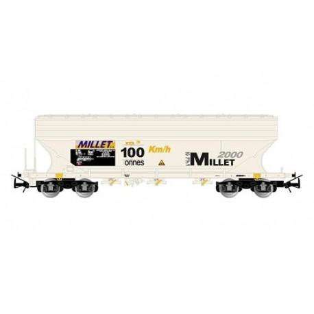 ** Rivarossi HR6418 SBB Millet 2000 Bogie Silo Wagon VI