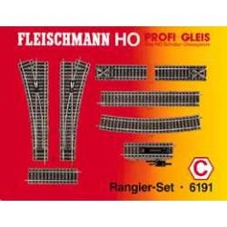 ** Fleischmann 6191 Profi Track Shunter Set C