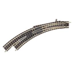 ** Fleischmann 9174 Profi Track Left Hand Curved Turnout