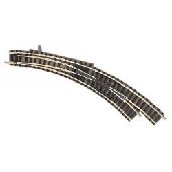 ** Fleischmann 9175 Profi Track Right Hand Curved Turnout