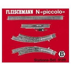 ** Fleischmann 9189 Profi Track Station Set B