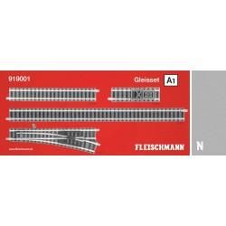** Fleischmann 919001 Profi Track Set A1