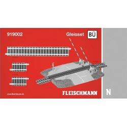 ** Fleischmann 919002 Profi Track Set BU