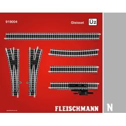 ** Fleischmann 919004 Profi Track Set U2