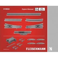 ** Fleischmann 919084 Profi Digital Track Set U2