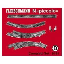 ** Fleischmann 9191 Profi Track Complete Set D