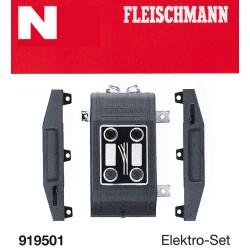 ** Fleischmann 919501 Profi Track Turnout Electrification Set