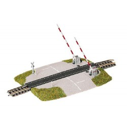 ** Fleischmann 9198 Profi Track Level Crossing