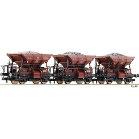 ** Fleischmann 822705 DB Talbot Ballast Wagon Set (3) III
