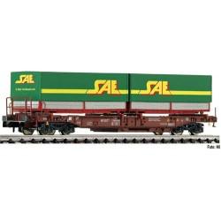 ** Fleischmann 845370 FS Std Pocket Wagon SAE Semitrailer Load V