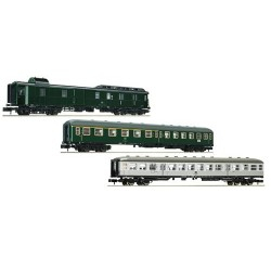 ** Fleischmann 881811 DB Classic Express Train Coach Set 1 (3) IV