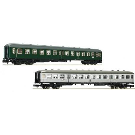 ** Fleischmann 881812 DB Classic Express Train Coach Set 2 (2) IV