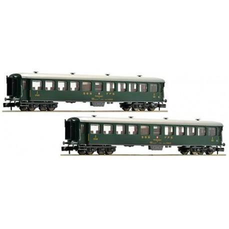 ** Fleischmann 881814 SBB Express Coach Set (2) IV