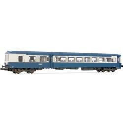 ** Jouef HJ4120 SNCF XR6000 Railcar Bleu d'auvergne Trailer V