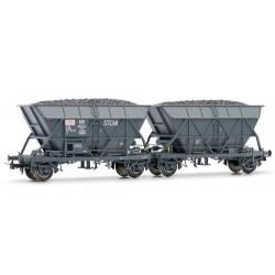** Jouef HJ6144 SNCF EF30 Stemi Hopper Wagon Set (2) IV