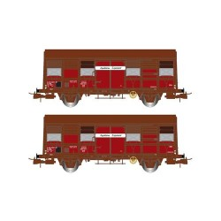 ** Jouef HJ6166 SNCF Gs 4-02 Aquitaine Express Van Set (2) IV